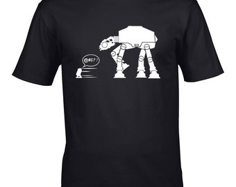 Star Wars R2D2 AtAt T-shirt
