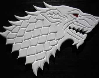 Game of Thrones - Jon Snow's Dire Wolf  - Ghost in the Darkness - Stark Sigil