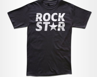 Rockstar T Shirt - Retro Tees for Men, Women & Children (All Colors)
