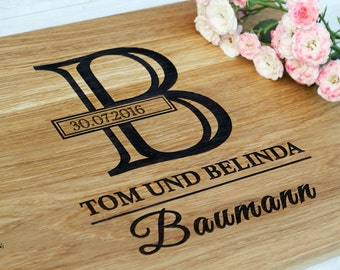 Personalized Cutting Board Personalized Wedding Gift  Anniversary Gift  Housewarming Gift Personalized Cutting Board Wood Custom Engraved