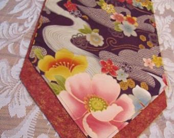 Oriental design table runner