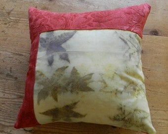 Cushion with insert ecoprint