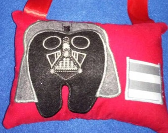 Darth vader tooth fairy pillow