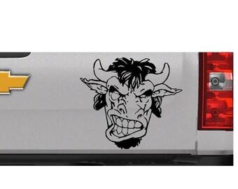 Buffalo decal | Angry Buffalo | Great White Buffalo