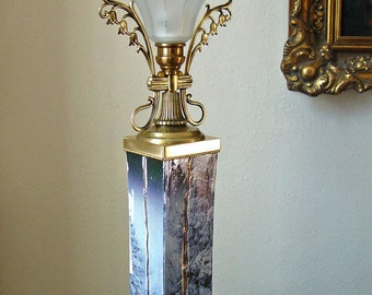 "Designer table lamp light object ""Regency"""