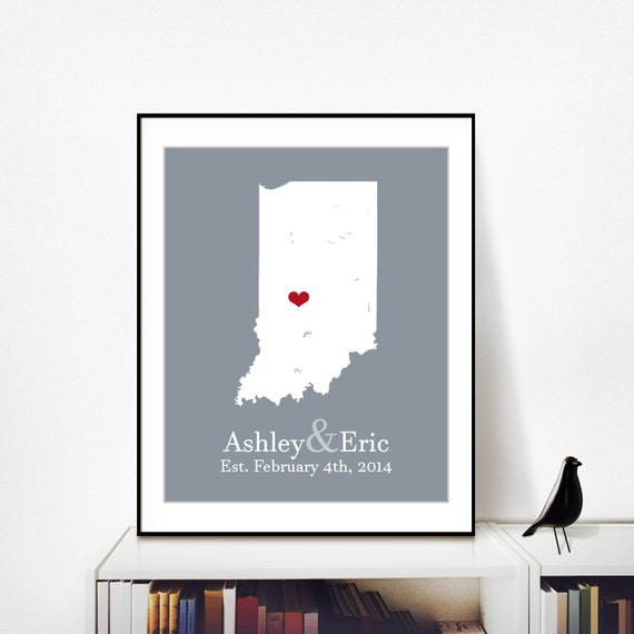 Anniversary Gifts For Husband 25th Anniversary By PersonalizedMaps