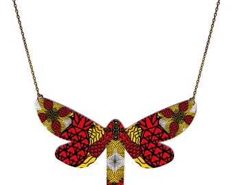 Butterfly undulating pineapple - Shamanic trend