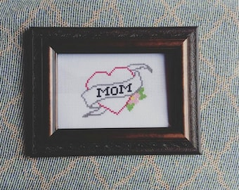 Mother's Day - Mom Tattoo Subversive Cross Stitch