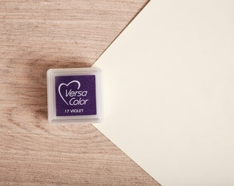 Violet - Rubber Stamp Mini Ink Pad