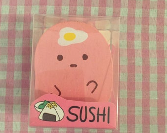 Kawaii Sushi Mini Stapler Pink