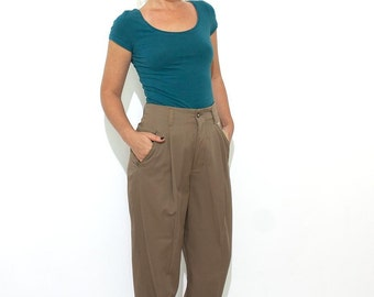 Part Two high waisted cigarette trousers