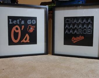 Favorite Sports Team Wall Art - Orioles