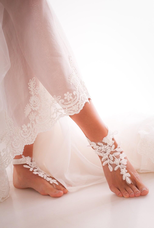 barefoot wedding shoes - photo #10