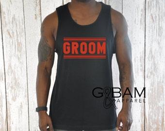 Groom Tank / Hubby tank / Hubby Shirt / Groom shirt / Bachelor Party Tank top