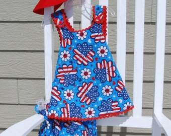 Infant Sundress, Patriotic Theme