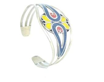 Openwork tribal ethnic bracelet