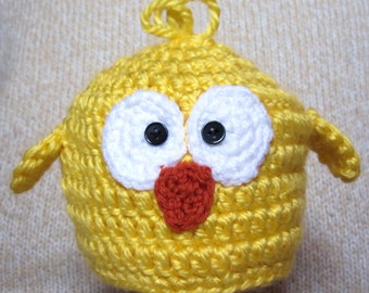 Crochet Baby Chick Hat, Easter hat, baby gift, baby shower gift, Easter gift, baby girl, baby boy, crochet baby hat, Easter chick, chick hat