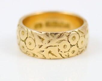 Edwardian 22ct Gold Ring (1909)