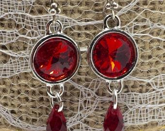 Ruby Tuesday Drop Earrings