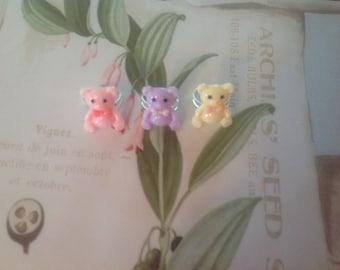 Teddy Bear Ring - Decora, Fairy Kei, Lolita