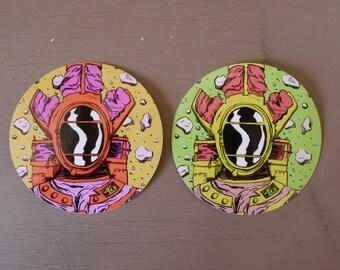 Lungora Vinyl Stickers