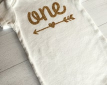 One ONESIE® Bodysuit with Arrow, ONESIE® Bodysuit with Age