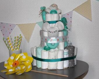 Diaper Cake (cake layers)