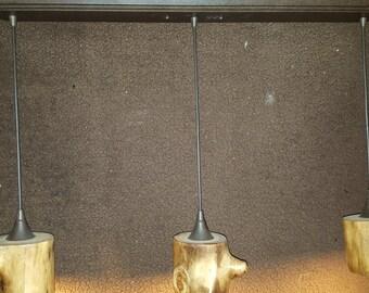 Aspen Log Pendant Light