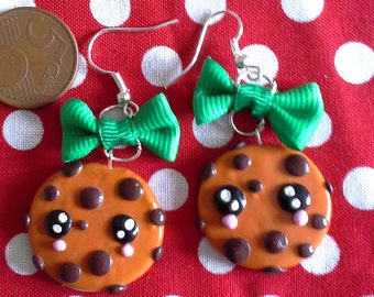 earrings polymer clay biscuit