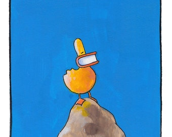 Duck on the Hill