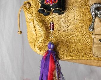 Bags tasell elephant for good luck.