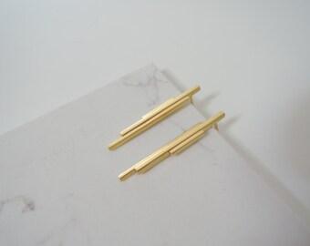 Geometric handmade earrings