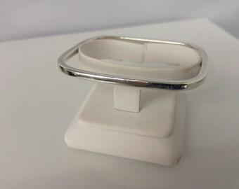 Sterling Square Bracelet