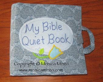 Bible Quiet Book, Busy Book, Activity Book