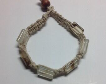 """7 1/4"""" Hemp Bracelet"""