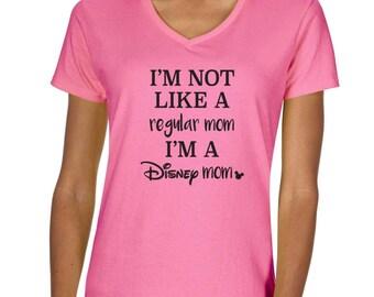 Disney Mom Vneck Tshirt