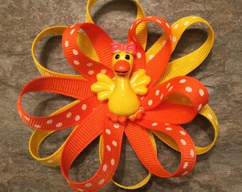 The Coco Bow - Yellow Ducky