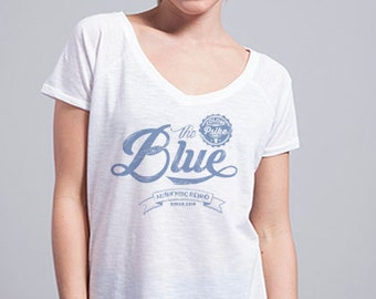 BLUE Retro t-shirt