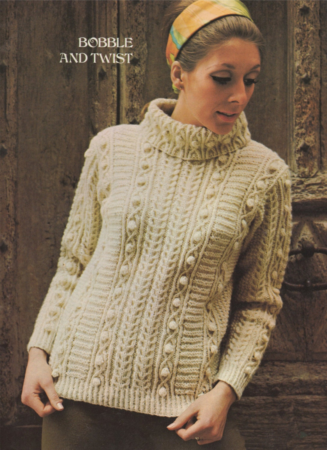 Ladies aran sweater knitting pattern womans 34 36 37 39 this is a digital file bankloansurffo Gallery