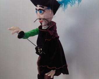 Puppet musketeer