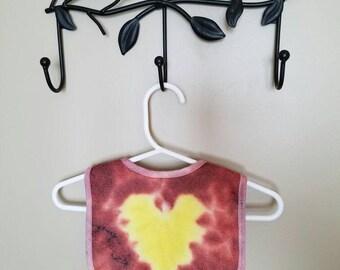Yellow Heart Bib