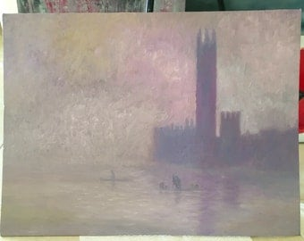 My Ode To Monet - London Fog