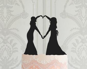 Same sex cake topper Etsy