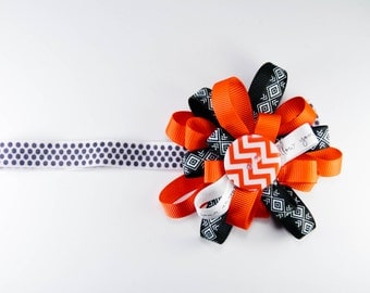 Red and Black Tribal bow