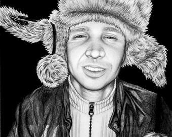 Custom Pencil Portrait 14x17