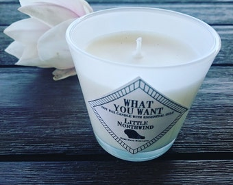 What You Want soy wax candle