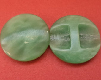 14 buttons Green 15mm (2474) button