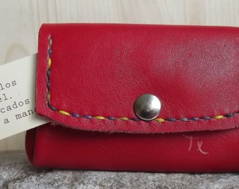 Wallet Maxi pad Red