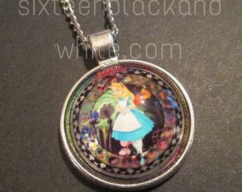 Classic Alice in Wonderland Pendant