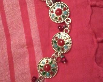 Boho retro gypsy bracelet